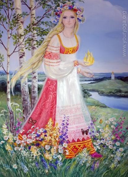 Славянская древнерусская живопись